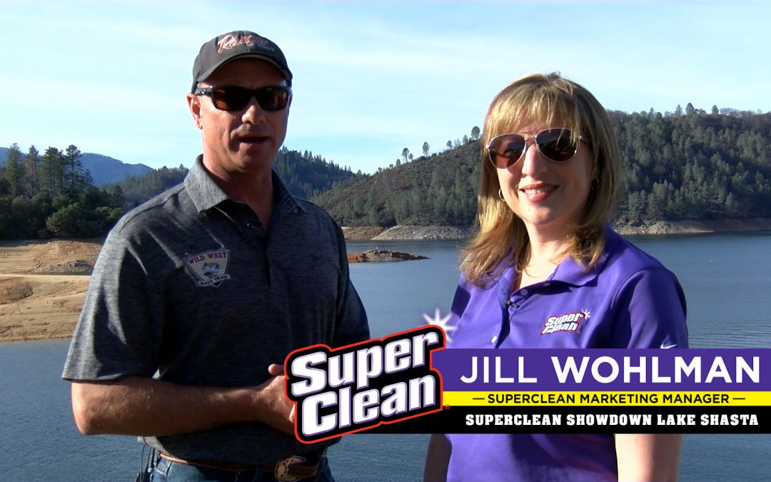 SuperClean Marketing Manager Jill Wohlman Picks the Shasta Winner!